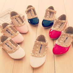 Gorgeous little shoes for beautiful girls.