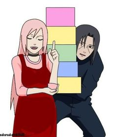 Uploaded by Only GIFs. Find images and videos about anime, naruto and sakura on We Heart It - the app to get lost in what you love. Naruto Kakashi, Naruto Anime, Manga Anime, Hinata, Sakura Haruno, Anime Pregnant, Naruto Shippuden Characters, Naruto Couples, Familia Anime