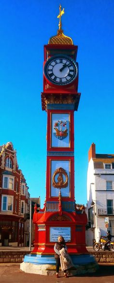 Queen Victoria Jubilee Clock, Weymouth, England. There are many such memorials around Britain if you look for them.