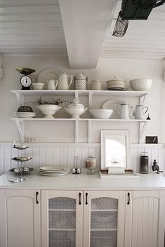white on white interior design kitchen