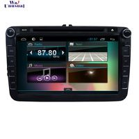 Newest Android 4.4 Car DVD Player for VW TIGUAN(2007-11) for Volkswagen TOURAN(2003-11) for EOS(2006-11) 8 inch 1024*600