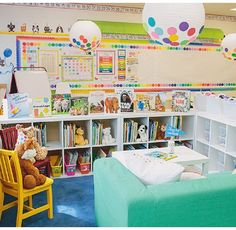 First Grade Classroom, Classroom Setup, Classroom Design, Kindergarten Classroom, Future Classroom, Classroom Reading Nook, Classroom Libraries, Elementary Teacher, Classroom Decor Themes