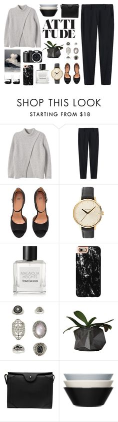 """""""Untitled #2702"""" by tacoxcat ❤ liked on Polyvore featuring Rebecca Taylor, Thakoon, Nixon, Tom Daxon, Casetify, Topshop, Carven and iittala"""