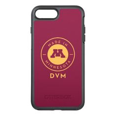 #gold - #College Of Veterinary Medicine | Gold DVM Logo OtterBox Symmetry iPhone 7 Plus Case