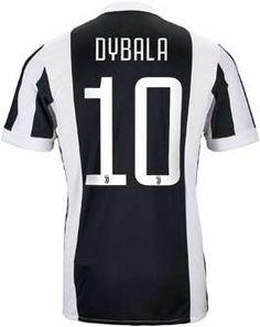 3704cbce5d4 adidas Kids Paulo Dybala Juventus Home Jersey 2017-18