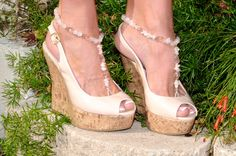 """Jewelry Showcase: """"Love Bling"""" – Bottomless sandal by Barefoot Bling Jewelry"""