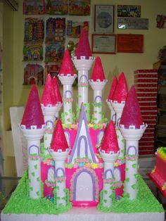 disney princess castle instructions