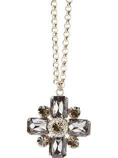 MARINA FOSSATI Jewel Cross Necklace
