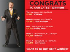 This week's big winners! Will you be next? #GNOC