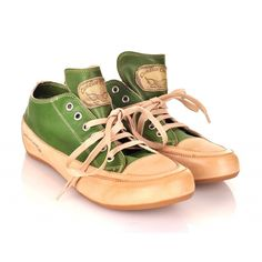 Candice Cooper Green Sneakers