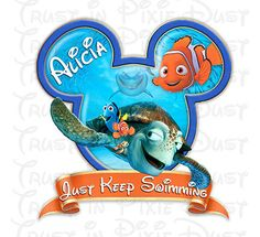 DIY Digital Download Finding Nemo Printable by TrustInPixieDust