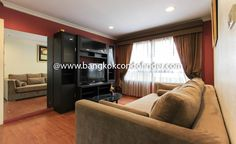 2 Bedroom Condo for Rent at Lumpini Suite Sukhumvit 41 -  To find out more of this rental & other available condos or apartments for rent, go to http://bangkokcondofinder.com/bangkok-condos-for-rent/  This 2 bedroom condo for rent at Lumpini Suite Sukhumvit 41 is a wonderful treat with its 100-square meter floor area. The best deal condo is fully furnished and near a BTS skytrain station. Warm and cozy with comfortable modern furniture, the combined living and dining ar