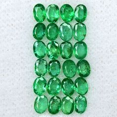 2.43 Cts Natural Top Green Emerald Oval Cut Lot Untreated Zambia Loose Gemstone