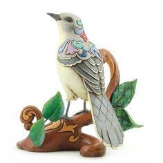 Delight In The Sounds Of The Mockingbird-Mockingbird Figurine