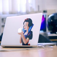 As a confirmed PC person, I find this highly amusing, because as we all well remember, in the Snow White fairytale, THE APPLE IS POISONED!!! (Snow White MacBook decal.)