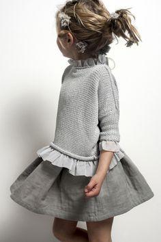 Jersey niña con ribetes de tela | Talleres Bordar | Reserva tu plaza 986210652