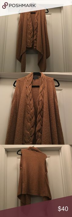 Anthropologie Braided Sweater Vest Excellent condition. By: Sunday in Brooklyn Anthropologie Jackets & Coats Vests