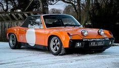Moto Mania - Epic Cars & Racing Photos, since 2008 — Rennsport Reich: 1971 Porsche 914-6 GT