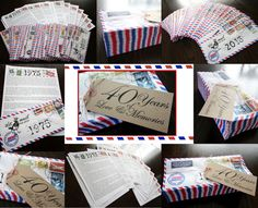 Love and Memories Anniversary Gift.  Memories or letters about how they touched your life, one for every year of their marriage (memory coincides with the year), put into envelopes.  Would be perfect for any milestone anniversary (from children to parents, or from a spouse), or for a milestone birthday (one for every year of their life) or retirement event (one for every working year).  Memories can be written by family/extended family/friends/neighbors/co-workers..etc.