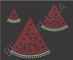 watermelon rhinestone designs template pattern craft svg stencil blingartusa sold pdf transfer