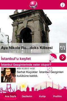 İstanbul sevdalılarının buluştuğu İstanbul Gezginleri grubunun mobil uygulaması. #nilaccra #istanbulgezginleri #iphone #mobil