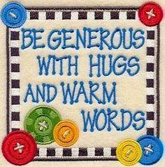 Be generous quote via www.Facebook.com/SilentHymns
