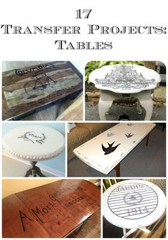 I love transfer projects. Using graphics to enhance a gorgeous piece of furniture is one of my favorite ways to see items from The Graphics fairy used. Today, I am sharing 17 transfer projects on tables that all come from readers here at the The Graphics Fairy. All of these tables are so gorgeous that …