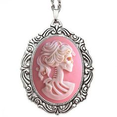 Couture By Lolita Necklace Pink, $32, now featured on Fab.