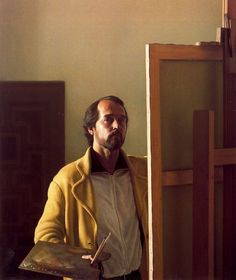 Self portrait - Claudio Bravo – a Chilean hyperrealist painter. Painting Studio, Painting & Drawing, Woman Painting, Figure Painting, Claudio Bravo, Hyper Realistic Paintings, Realism Art, Portrait Art, Portrait Paintings