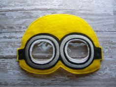 minion mask template - felt mask for kids free patterns google search