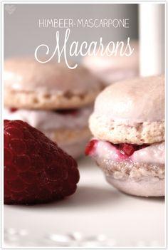 Dreierlei Liebelei: Es war einmal eine Fee in London... oder: Himbeer-Mascarpone-Macarons