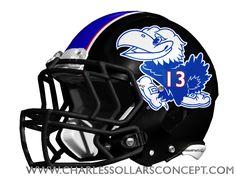 Charles Sollars Concepts @charles elliott Sollars #kansas #jayhawks http://www.charlessollarsconcepts.com/what-i-say-the-new-kansas-helmets-should-look-like-im-right/