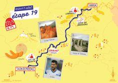 La dix-neuvième étape du Tour de France par deux degré et Mélanie Béguier. Provence, Movie Posters, Living Room, Film Poster, Billboard, Film Posters, Aix En Provence