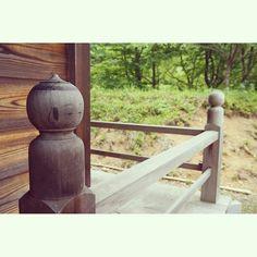 念願のこけし神社にも行けました♡ #Huntgram #HuntgramJapan #ig_nihon #icu_japan #kokeshi #こけし #Shrine #神社 #また白石いこー
