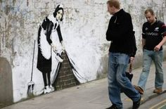 street art banksy 19 Banksy: British street artist (20 photos)