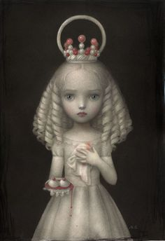 Nicoletta Ceccoli - Dulcis Agata  Ignore the blood but this is a cool idea for the china princess?