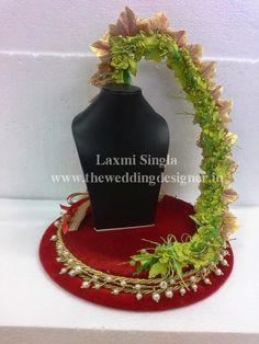 Desi Wedding Decor, Indian Wedding Decorations, Wedding Crafts, Wedding Events, Indian Weddings, Wedding Ideas, Coconut Decoration, Engagement Ring Platter, Wedding Gift Wrapping