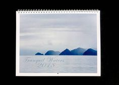 2018: Tranquil Waters calendar ~ 2018 Calendar ~ Beach Calendar ~ 2018 Photography Calendar ~ Nature Calendar ~ 2018 Wall Calendar ~ Ocean Calendar ~ Hostess Gift Monthly Calendar by #NancyJCreates #2018 #2018calendar #beachcalendar #beach #ocean #lakes #naturecalendar #nature