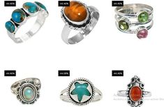 30 PCE Natural Gemstone Ring Wholesale Lot Rings 925 Sterling Silver Ring Lot_L01 - Moroccan Decor Store Silver Rings With Stones, Sterling Silver Rings, Peridot, Amethyst, Handmade Rings, Moroccan Decor, Malachite, Natural Gemstones, Gemstone Rings