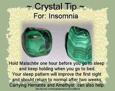 ✯ Crystal Tip: For Insomnia ✯