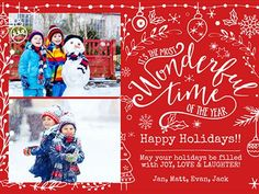 Personalized Online Christmas Cards - Smilebox