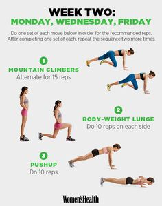 It's Week 2 of Your Total-Body Workout Through the Trails