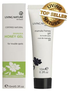 Manuka Honey Gel (all types/anti-acne) - Living Nature - 1 Insect Bites, Cold Sore, Natural Skin Care, Body Care, Honey, Nature, Skincare, Up, Cosmetics
