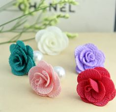 2015 Brand Pendientes Flowers Double Pearl Earrings Gold Plated Rose Women Anti Allergy Earrings Double Sided Earring-in Stud Earrings from Jewelry on Aliexpress.com | Alibaba Group