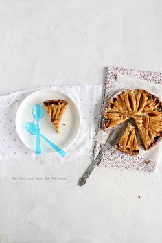 appletart034 Tarte aux pommes (sans gluten) au lait de coco & citron vert