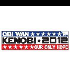 Vote Kenobi in 2012 ;-D