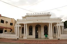 Representación de una de las 95 casas republicanas en Calamar
