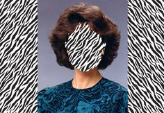 80's portrait manipulation