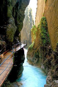 Thermal Waterfall Spa, Mittenwald, Germany