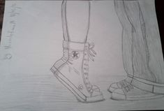 Shoes couple pic cute couple drawings, cute couples, drawing ideas, ideas for drawing Cute Drawings Tumblr, Cute Couple Drawings, Amazing Drawings, Easy Drawings, Pencil Drawings, Cute Drawings Of Love, Hipster Drawings, Drawings Of Couples, Anchor Drawings